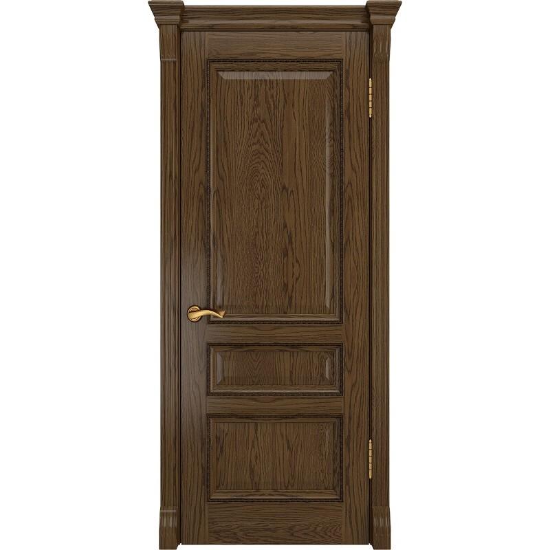 Ульяновская дверь Фемида-2 светлый морёный дуб ДГ