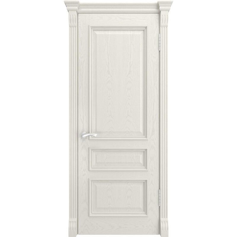 Ульяновская дверь Гера-2 RAL 9010 ДГ