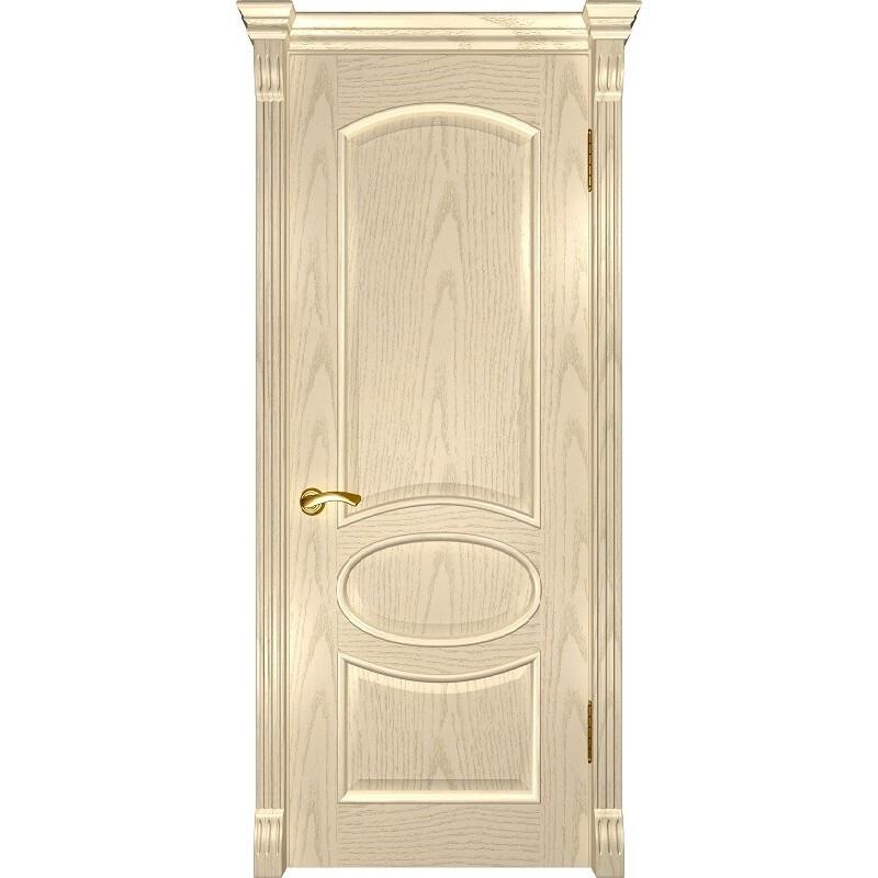 Ульяновская дверь Грация слоновая кость ДГ