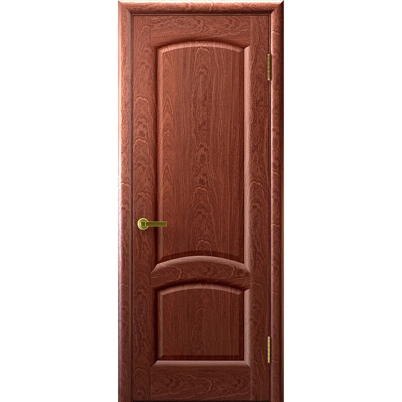 Ульяновская дверь Лаура красное дерево ДГ