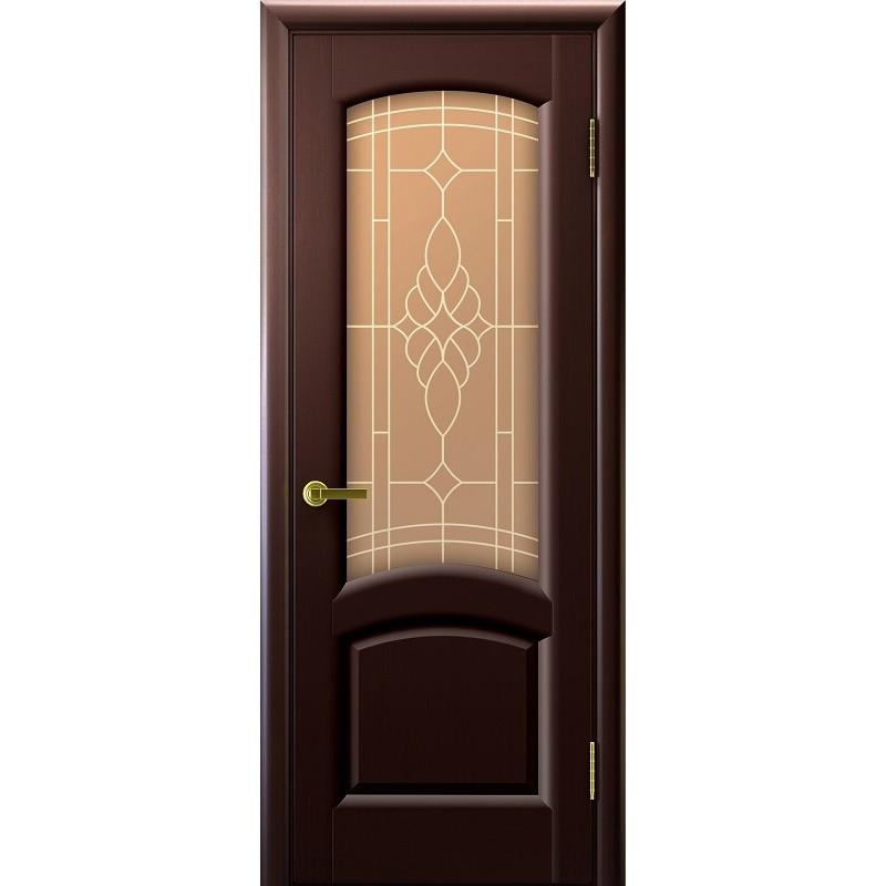 Ульяновская дверь Лаура венге ДО