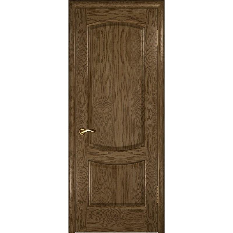 Ульяновская дверь Лаура-2 светлый морёный дуб ДГ