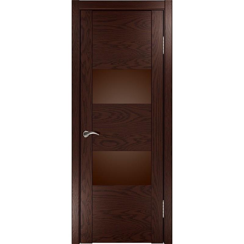Ульяновская дверь Орион-2 морёный дуб