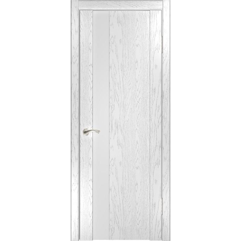 Ульяновская дверь Орион-3 дуб белая эмаль
