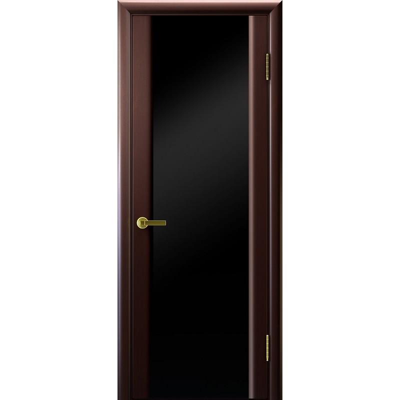 Ульяновская дверь Синай-3 венге ДО чёрное