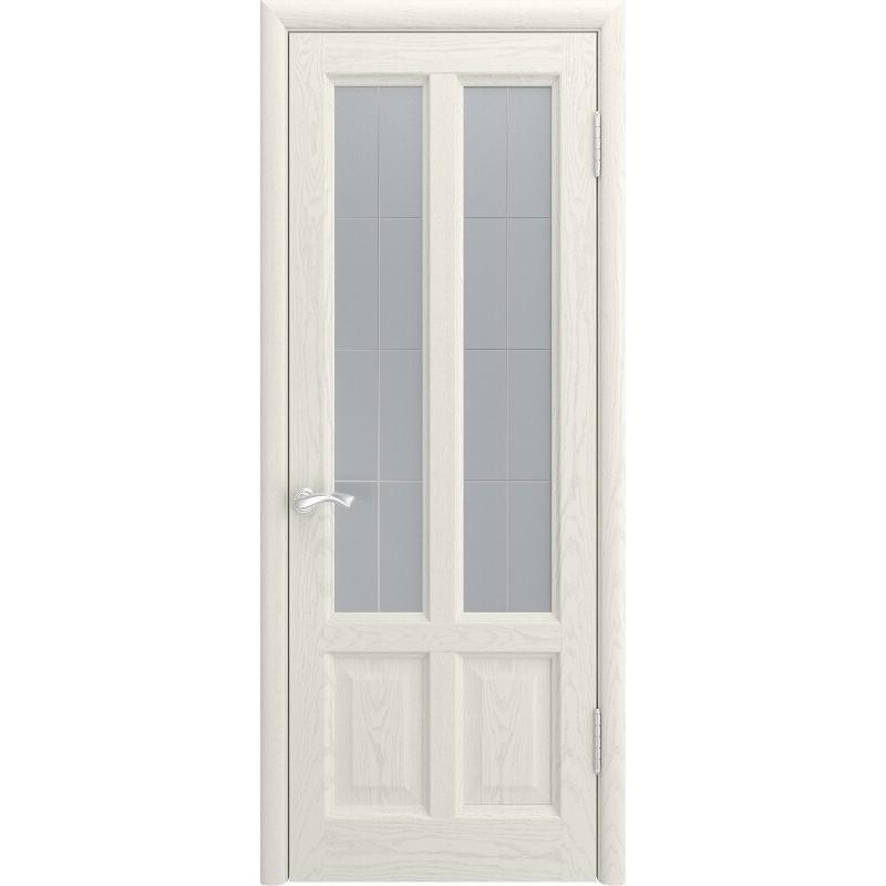 Ульяновская дверь Титан-3 дуб RAL 9010 ДО