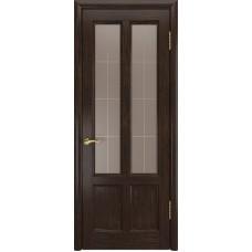 Ульяновские двери Титан-3 морёный дуб ДО