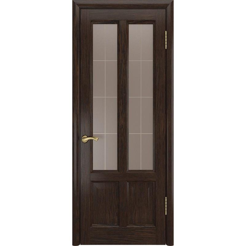 Ульяновская дверь Титан-3 морёный дуб ДО