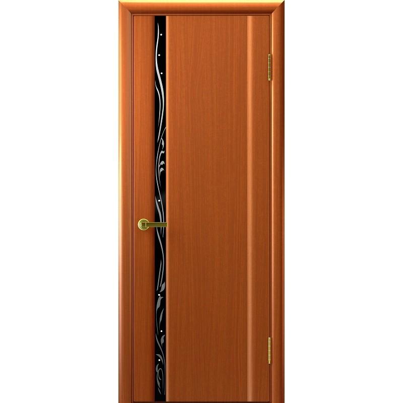 Ульяновская дверь Трава-1 тёмный анегри