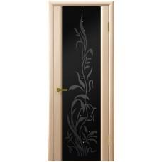 Ульяновские двери Трава-2 белёный дуб