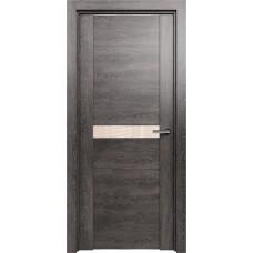 Дверь Status Trend модель 411 Венге пепельный стекло лакобель бежевый