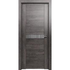 Дверь Status Trend модель 411 Венге пепельный стекло лакобель серый