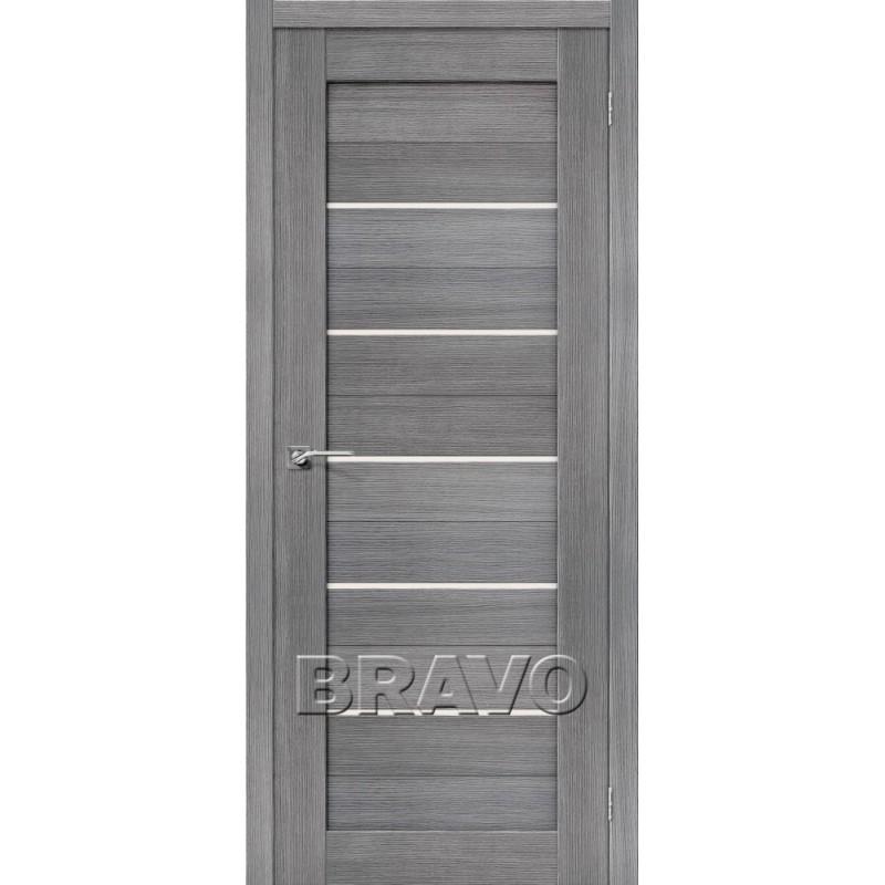 Межкомнатная Дверь Экошпон Порта-22 Grey Veralinga