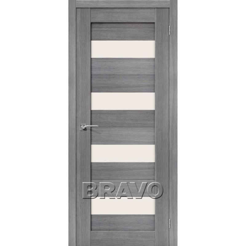 Межкомнатная Дверь Экошпон Порта-23 Grey Veralinga