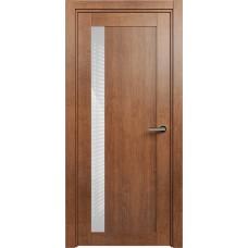 Дверь Status Estetica модель 821 Анегри стекло лакобель белый