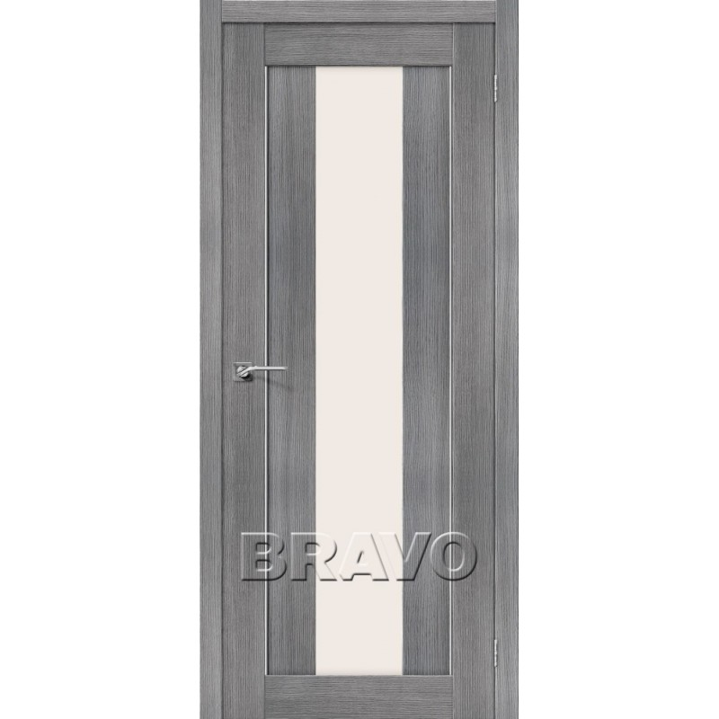 Межкомнатная Дверь Экошпон Порта-25 alu Grey Veralinga