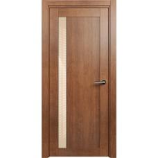 Дверь Status Estetica модель 821 Анегри стекло лакобель бежевый