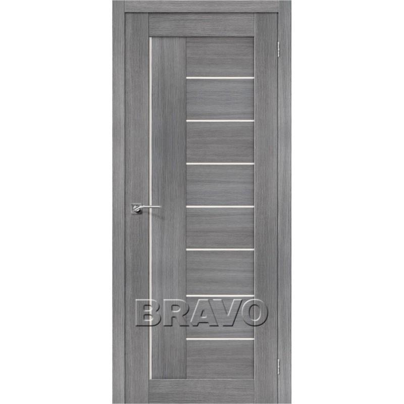 Межкомнатная Дверь Экошпон Порта-29 Grey Veralinga