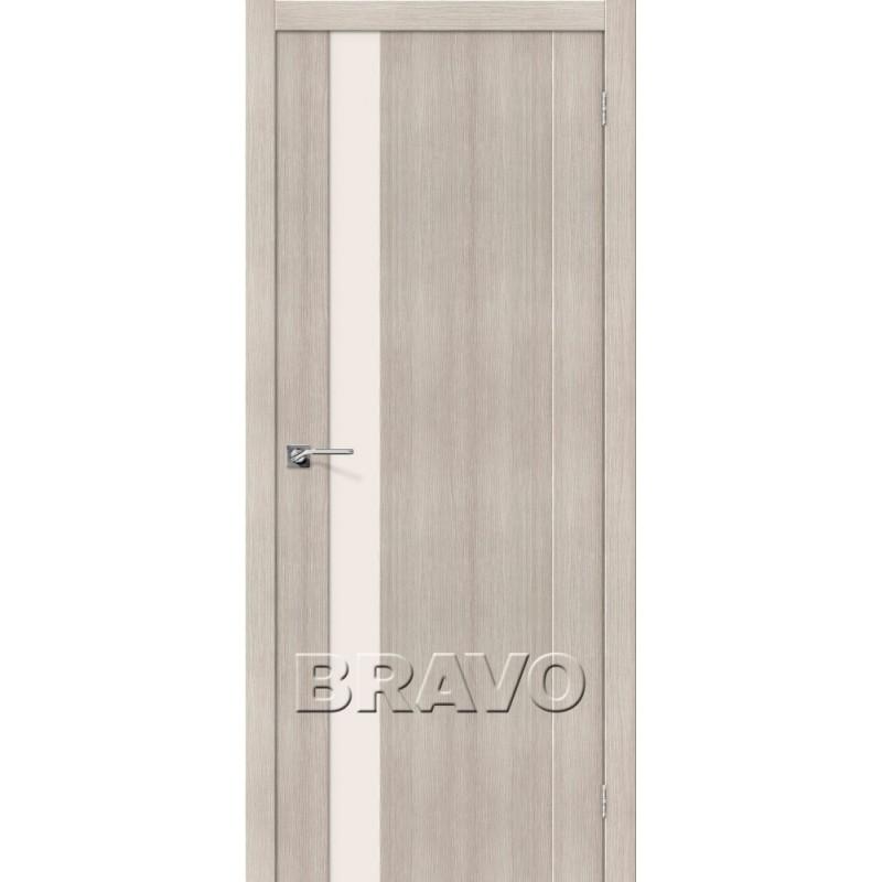 Межкомнатная Дверь Экошпон Порта-11 Cappuccino Veralinga