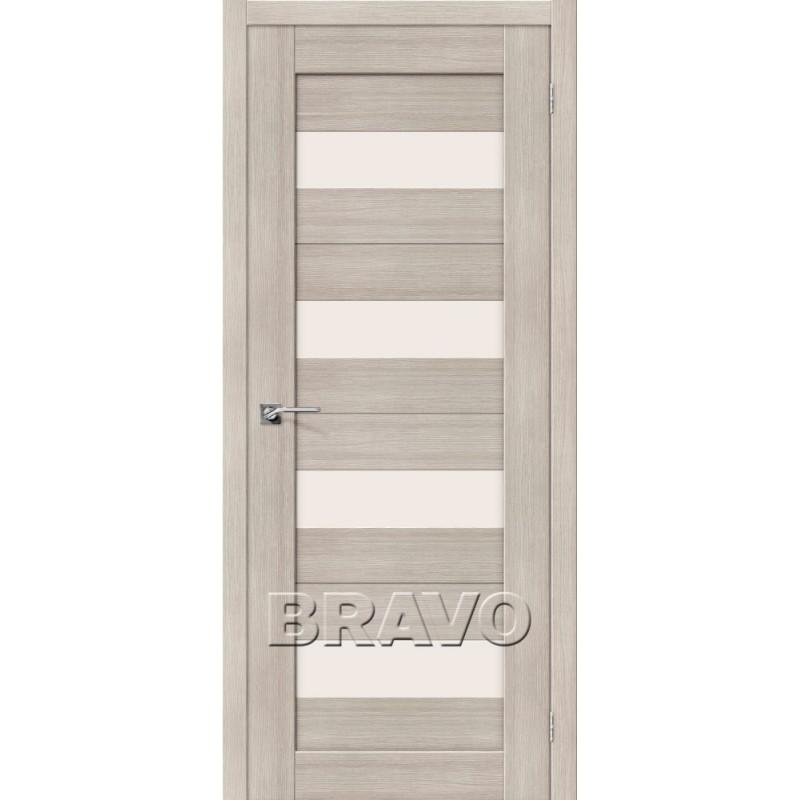 Межкомнатная Дверь Экошпон Порта-23 Cappuccino Veralinga