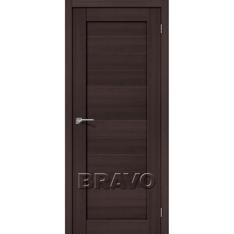 Межкомнатная Дверь Экошпон Порта-21 Wenge Veralinga