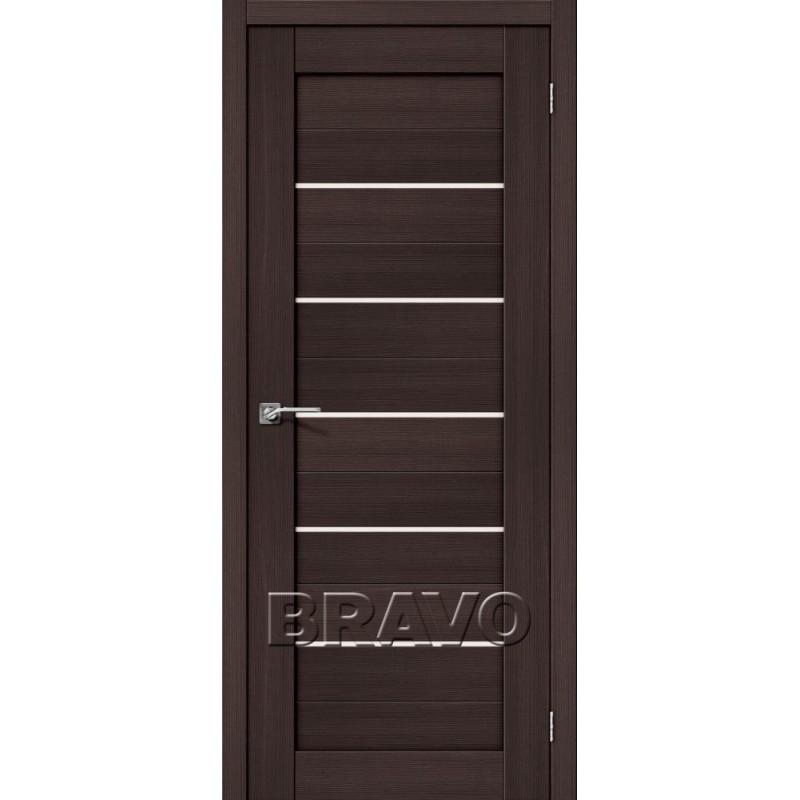 Межкомнатная Дверь Экошпон Порта-22 Wenge Veralinga