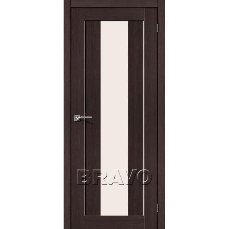 Межкомнатная Дверь Экошпон Порта-25 alu Wenge Veralinga