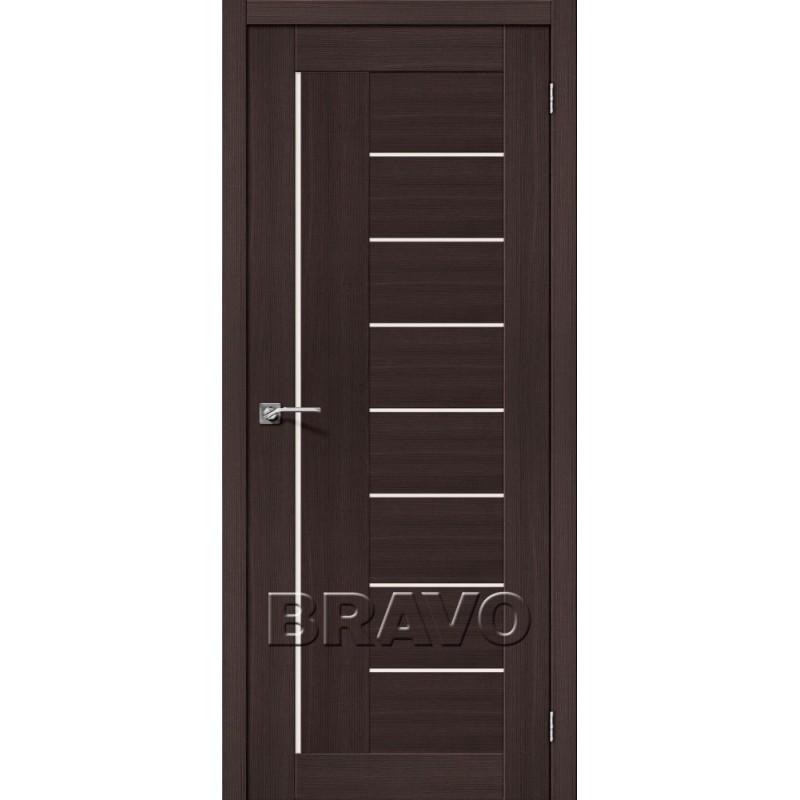 Межкомнатная Дверь Экошпон Порта-29 Wenge Veralinga