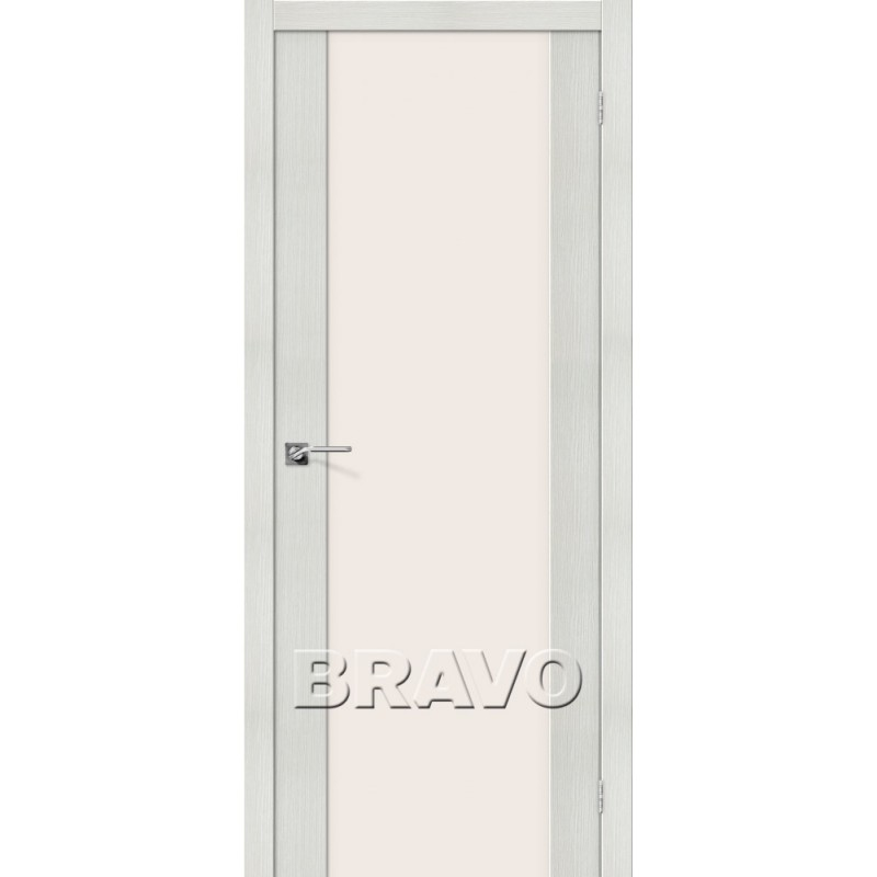 Межкомнатная Дверь Экошпон Порта-13 Bianco Veralinga