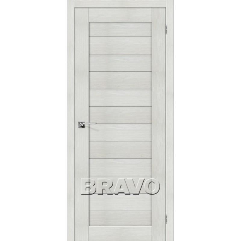 Межкомнатная Дверь Экошпон Порта-21 Bianco Veralinga
