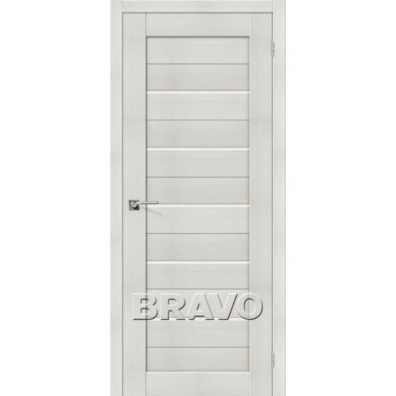 Межкомнатная Дверь Экошпон Порта-22 Bianco Veralinga