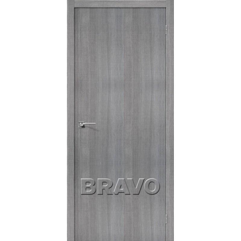 Межкомнатная Дверь Экошпон Порта-50 Grey Crosscut