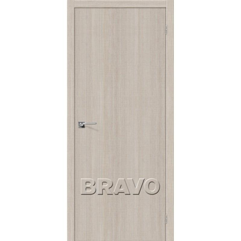 Межкомнатная Дверь Экошпон Порта-50 Cappuccino Crosscut