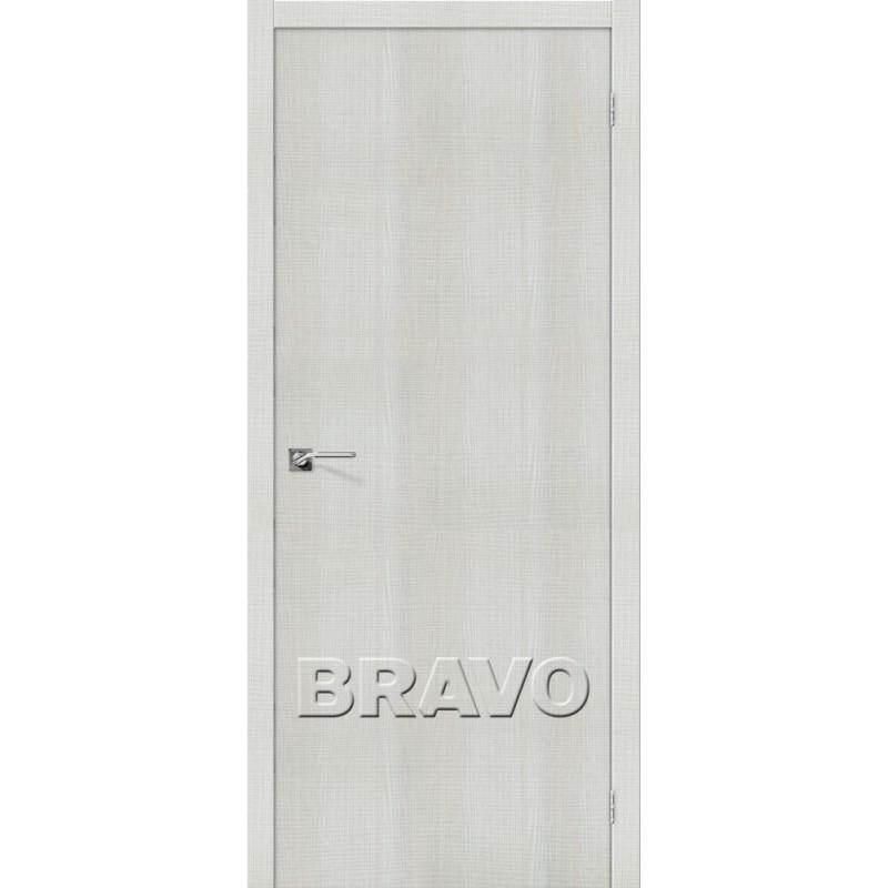 Межкомнатная Дверь Экошпон Порта-50 Bianco Crosscut