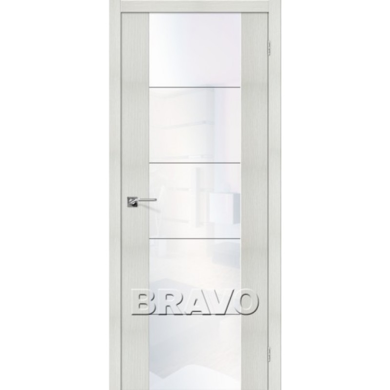 Межкомнатная Дверь Экошпон V4 WW Bianco Veralinga