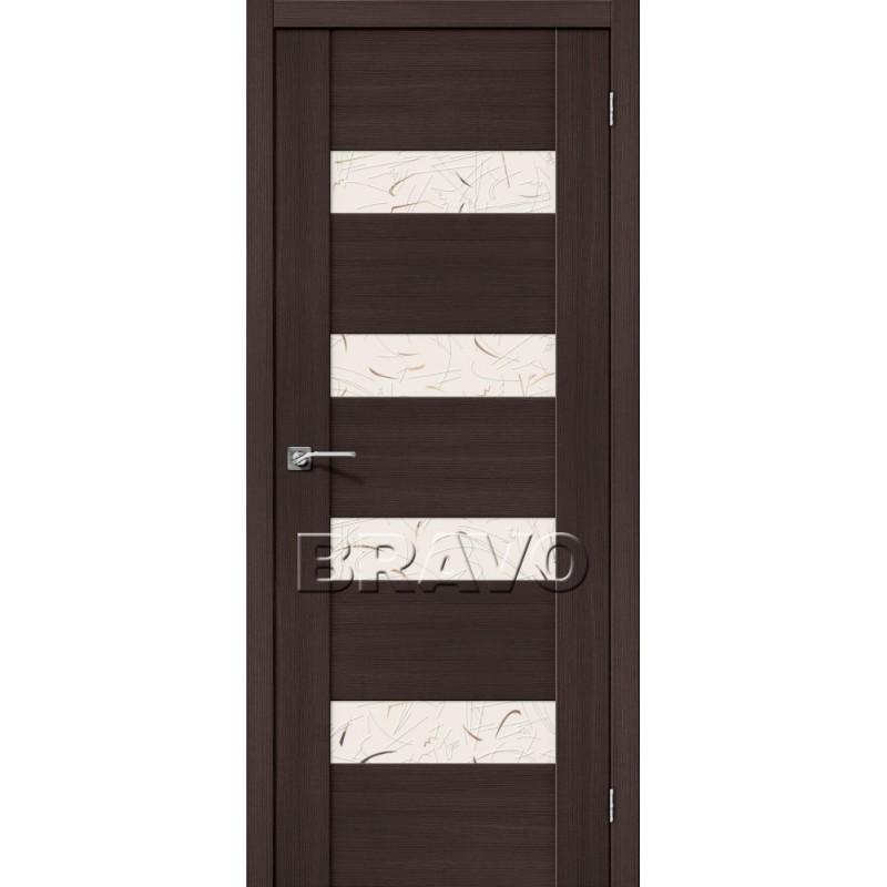 Межкомнатная Дверь Экошпон VM4 Wenge Veralinga