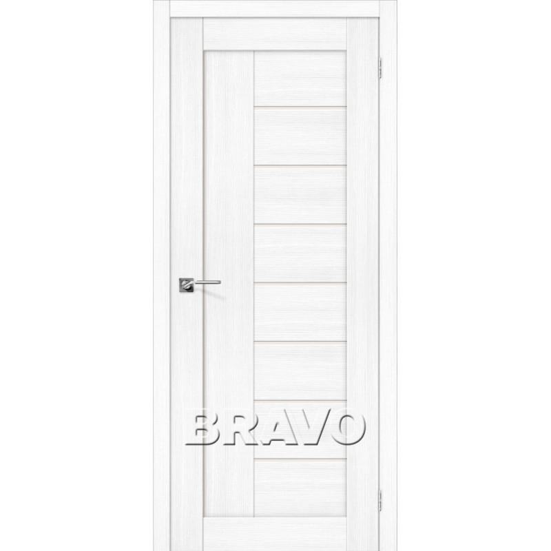 Межкомнатная Дверь Экошпон Порта-29 Snow Veralinga