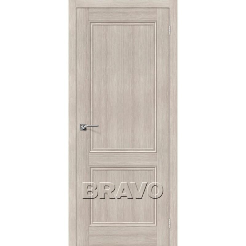 Межкомнатная Двери Экошпон Порта-62 цвет Cappuccino Veralinga