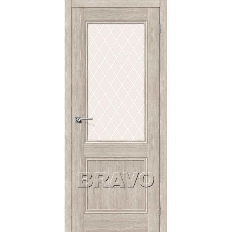 Межкомнатная Дверь Экошпон Порта-63 Cappuccino Veralinga
