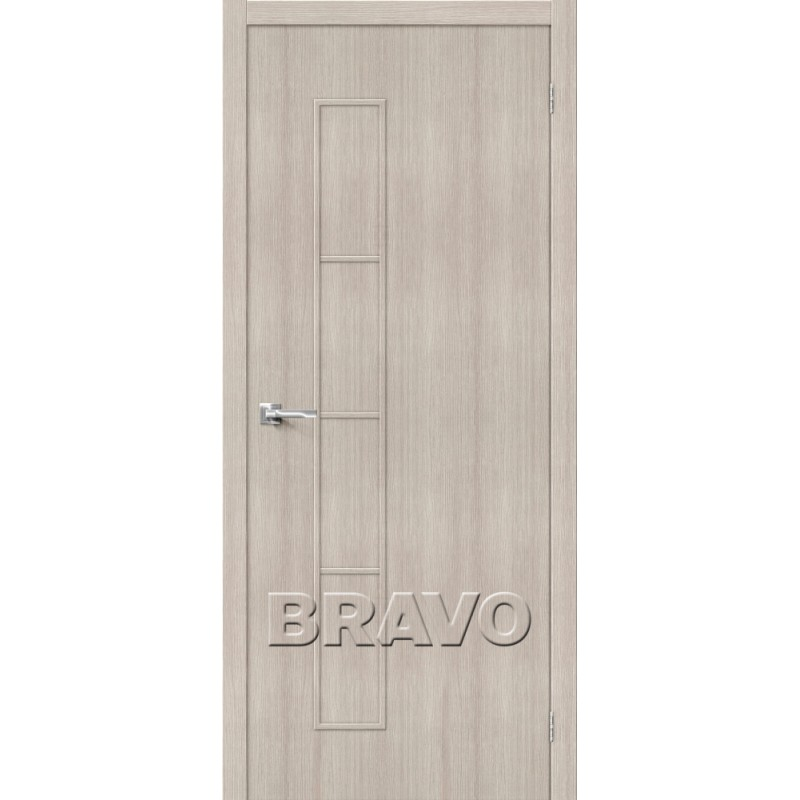 Межкомнатная Дверь Экошпон Тренд-3 Cappuccino Veralinga