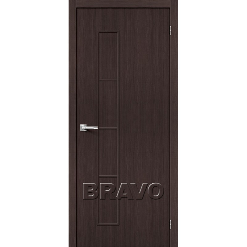 Межкомнатная Дверь Экошпон Тренд-3 Wenge Veralinga