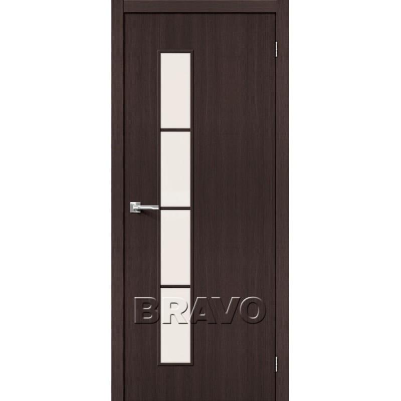 Межкомнатная Дверь Экошпон Тренд-4 Wenge Veralinga