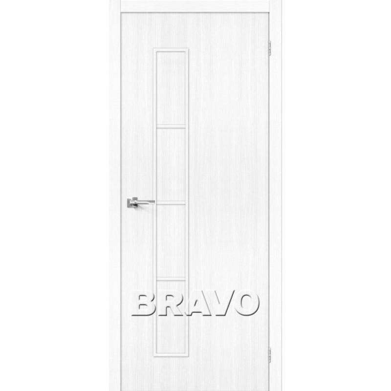 Межкомнатная Дверь Экошпон Тренд-3 Snow Veralinga