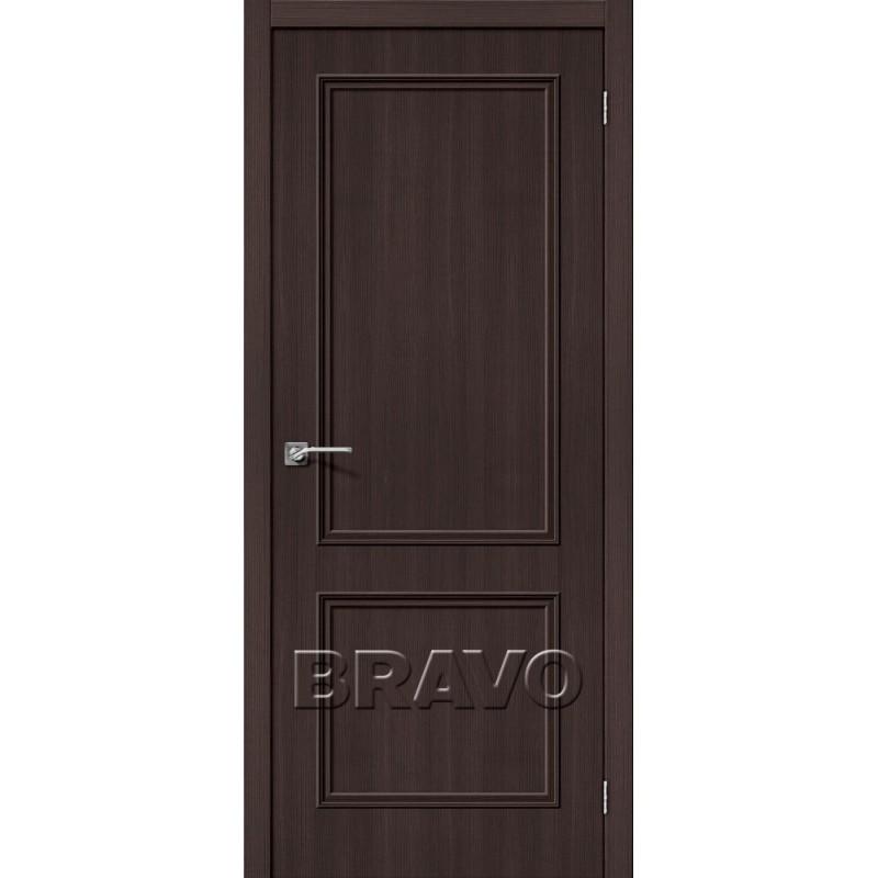 Межкомнатная Дверь Экошпон Симпл-12 Wenge Veralinga
