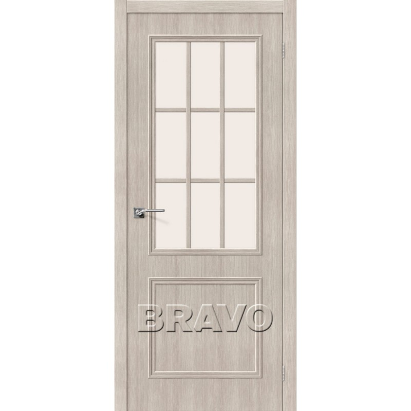 Межкомнатная Дверь Экошпон Симпл-13 Cappuccino Veralinga