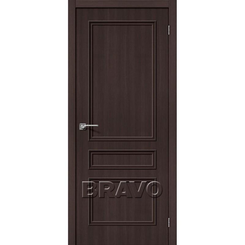 Межкомнатная Дверь Экошпон Симпл-14 Wenge Veralinga