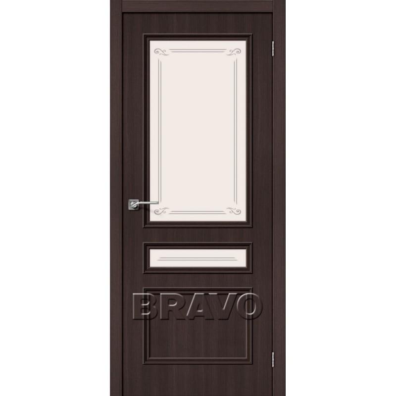 Межкомнатная Дверь Экошпон Симпл-15-2 Wenge Veralinga