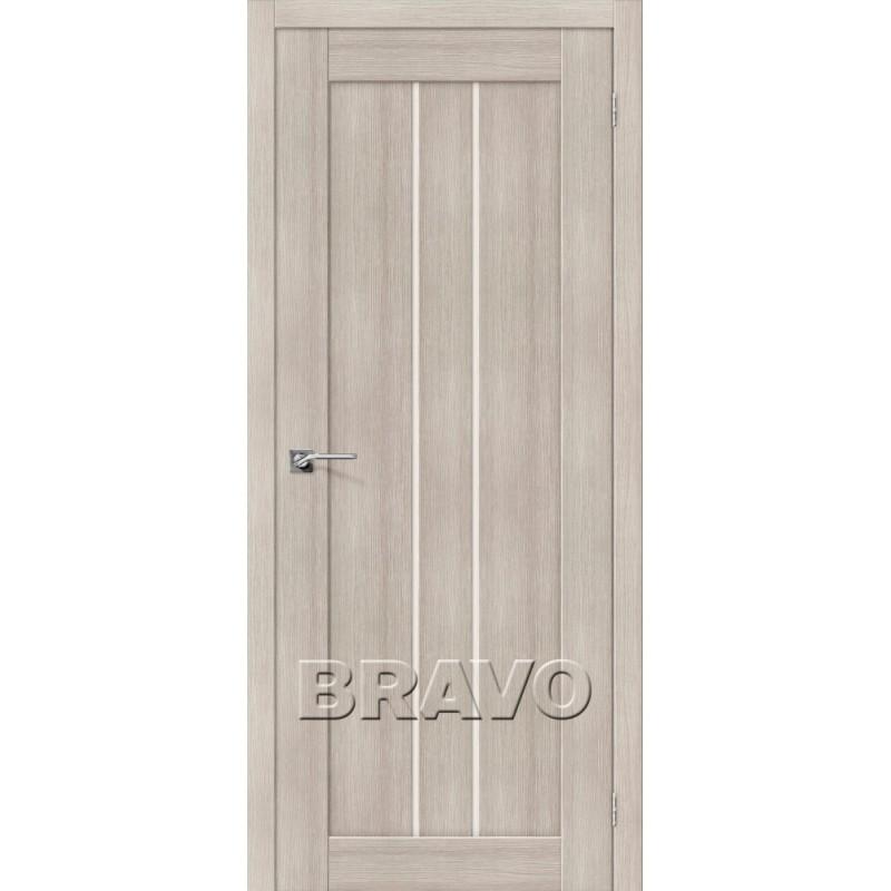 Межкомнатная Дверь Экошпон Порта-24 Cappuccino Veralinga
