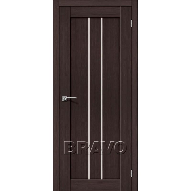 Межкомнатная Дверь Экошпон Порта-24 Wenge Veralinga