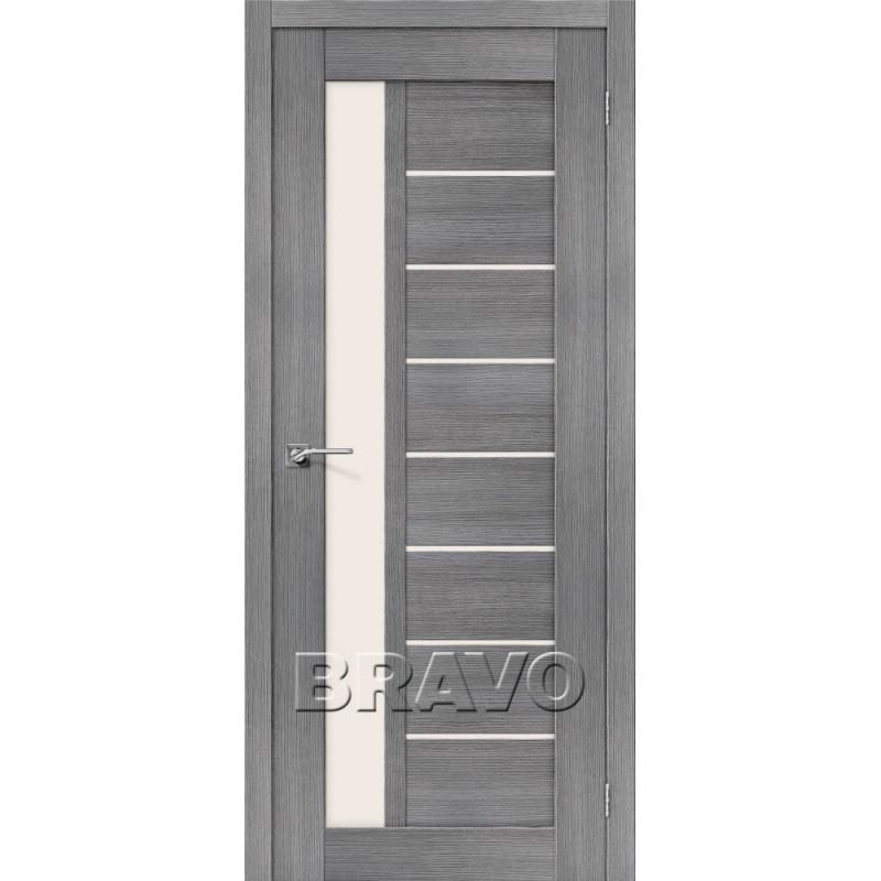 Межкомнатная Дверь Экошпон Порта-27 Grey Veralinga
